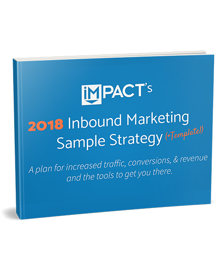 Free Inbound Marketing Strategy Template - Strategy template