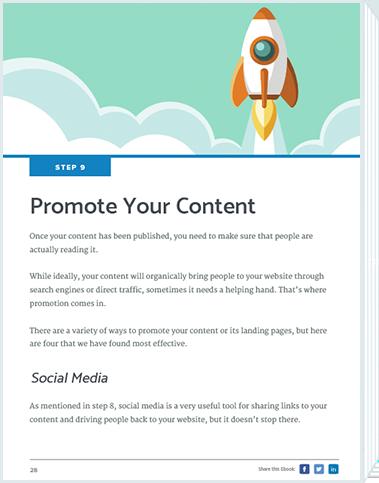 Inbound Marketing Process Promote Content