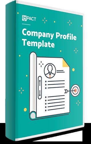 Free Template: Company Profile  Free Company Profiles Template