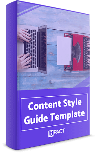 Content Style Guide Template