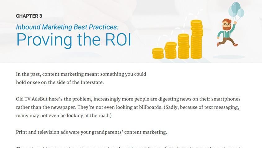 Proving the ROI Inbound Marketing Best Practices